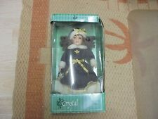 """Hand Painted Porcelain Doll """"Crystal"""" With Beautifully Tailored Clothing 16"""""""