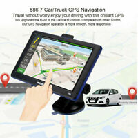 """Vastfire 7"""" Portable 8GB Car Truck GPS Navigation Sat Nav Navigator Speed Cam Q"""