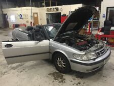 Saab 9-3 Convertible Breaking Drivers Wing Mirror Complete For Sale.