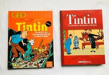 Lot BD Tintin magazine GEO Hors série & Le Figaro BEAUX ARTS / HERGE