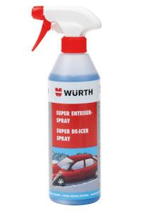 Würth Super Antigel Spray Dégivrage Dégivreur 500ML Offre