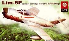 PZL LIM 5 P FRESCO D (POLISH AF MARKINGS) 1/72 PLASTYK (mig 17)