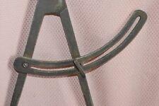 Antiker Zirkel  antique dividers gepunzt Stahl 30 cm / Fach C3