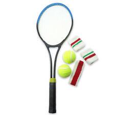 Rayline Tennis Schläger Kinder Set 2X Schweißband 1x Stirnband 2x Tennisball