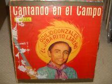 Odilio Gonzalez - Cantando En El Campo - Mega Rare LP in Fair Conditions L1