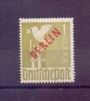 Berlin 2 Mark Rotaufdruck 1949 - MiNr. 33 ungebraucht - Michel 220,00 € (697)