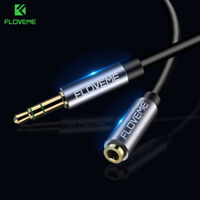 3.5mm Jack Male to Female M/F Stereo Audio Headphone Extension Cord Cable Luxury