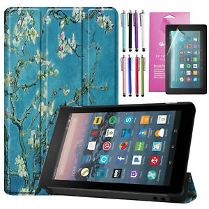 """Smart Case for Amazon Kindle Fire 7"""" Tablet 9th 2019 Cover with Auto Wake/Sleep"""