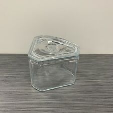 Glass Refrigerator Dish / Container Food Saverette  — CHIPS
