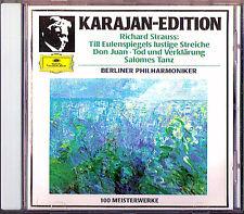 Karajan: STRAUSS Till hiboux miroir amusante des Tours DON JUAN Mort et transfiguration