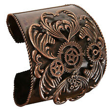 Cuff Copper Arm Band Victorian Steampunk Adult Halloween Costume Accessory