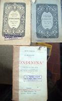 1905 LOTE 3 VOLÚMENES TEATRO DE LA EDUCACIÓN MODENA Y LIBRO DE A. MICHELETTI