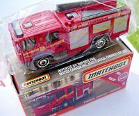 Scania 360 Fire Truck. Matchbox 2018 56/125. FHX24. New in Box!