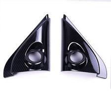 Carbon Fiber Front Window Speaker Cover Trim For Mitsubishi Outlander 2013-2018