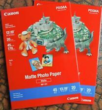 "Canon Photo Paper Matte MP-101, 13"" x 19"", 40 Sheets"