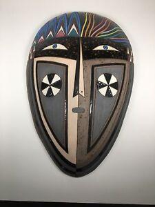 "Modernist Stoneware Sculpture ""Medieval"" by renown  artist Louis Mendez"
