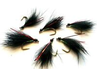 Red Flash Black Cormorant Still Water Lake Lures Trout Fly Fishing Flies