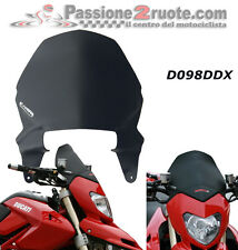 Headlight Fairing Screen black Fabbri Ducati Hypermotard 796 1000 07-12 d098xdx