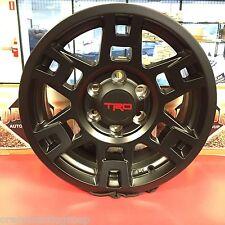 "PTR20-35110-BK Genuine Toyota Black TRD ALUMINUM 17X7"" SEMA Wheels 4 PC"