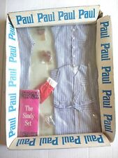 vintage 1965 Pedigree SINDY TEEN doll PAUL outfit AND SO TO BED set #13M01 NRFB!