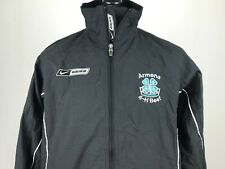 Nike Bauer Warm-up Track Jacket Men's Size M Armena Canada 4-H Beef Windbreaker