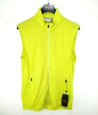 NEW KJUS Mens Dorian Full Zip Vest Green Stretch Performance Golf Size 50 M