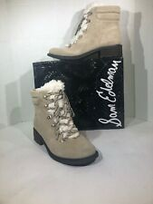 Sam Edelman Darrah 2 Women's Size 10 M Sand Suede Ankle Boots Shoes YE-412