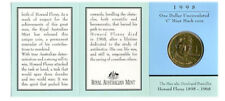 "1998 $1 Uncirculated Coin: ""Howard Florey."" - ""C"" Mintmark."