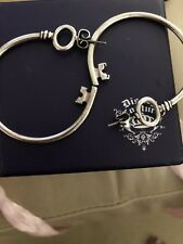 Disney Couture The Alice In Wonderland Large Key Hoop Earrings. Rare!!Cosplay!!
