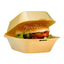 100 Large Foam Polystyrene Burger Box Chips Salads For Fish & Chips Shop NEW UK