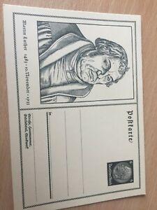 Germany Reich pristine postcard Martin Luther 10.11.1933