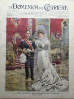 La Domenica del Corriere 3 Giugno 1906 Lancia Ibesn Tumulti di Cagliari Sempione
