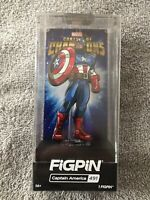 FIGPIN - Marvel Contest Of Champions, Captain America - #491 Walgreens Exclusive
