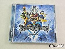 Kingdom Hearts 1 Original Soundtrack Music CD 2CD Japan Import JP OST US Seller