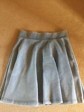 Topshop Denim Look Skirt Size 8 Bnwot