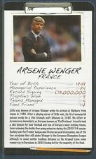 TOP TRUMPS-FOOTBALL MANAGER-2008-ARSENAL-ARSENE WENGER
