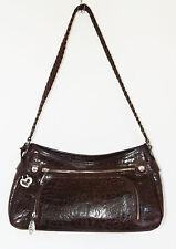 BRIGHTON Toni Handbag Shoulderbag w/ Built-in Wallet ~ Brown Leather ~ H32078 sw
