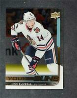 2018-19 18-19 UD Upper Deck Series 2 Young Guns Clear Cut #481 Victor Ejdsell