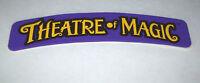 Theatre Of Magic Pinball Machine Decal Sticker BALLY Original NOS Promo 1995
