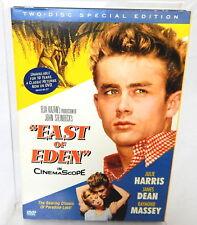 2D DVD EAST OF EDEN James Dean Julie Harris Two Disc Special Edition