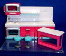 Shopkins Chef Club Series Hot Spot Kitchen w/ Table & Chairs Playset B082