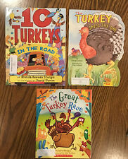 Lot of 3: Thanksgiving Themed Children's Preschool Books (Paperback)!