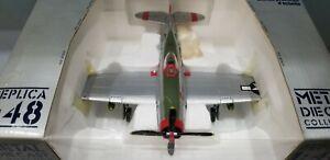 "ARMOUR MODELS (98144) USAAF P-47D ""CHIEF SKI-U-MAH II"" 1:48 SCALE DIECAST MODEL"