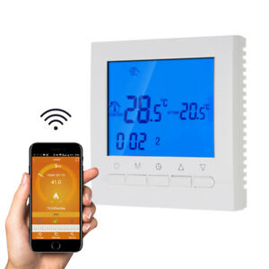WiFi Progammable Gas Boiler Thermostat Warer Room Heating Temperature Controller