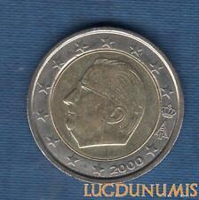 Belgique 2000 2 Euro Pièce neuve SUP SPL provenant d'un Rouleau - Belgium