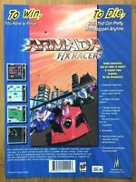 Armada F/X Racers Gameboy Color 2000 Vintage Game Print Ad/Poster Official Rare!