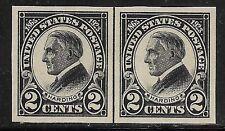U.S. UNUSED 611    MNH      Line Pair as shown      (R7507)