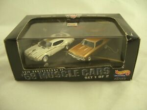 Hot Wheels 30th Anniversary 69 Muscle Cars Series 1 Oldsmobile 442 & Chevrolet