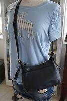 Vintage COACH Legacy 9136 Black Leather Small Hobo Crossbody Shoulder Purse Bag