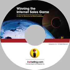 Auto Sales Training - Internet SalesTraining eBook on CD